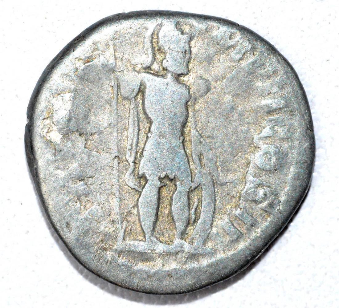 Roman Denarius of Lucius Verus, rv. Mars - 2