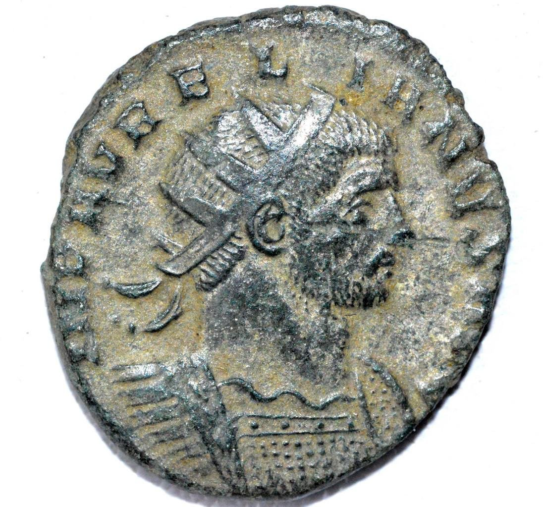 Roman Antoninianus of Emperor Aurelian