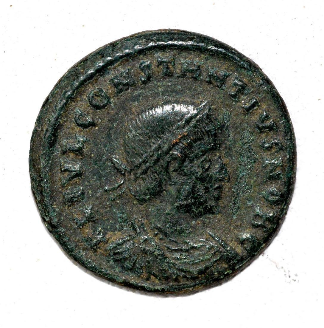 Rare Roman AE Follis - House of Constantine