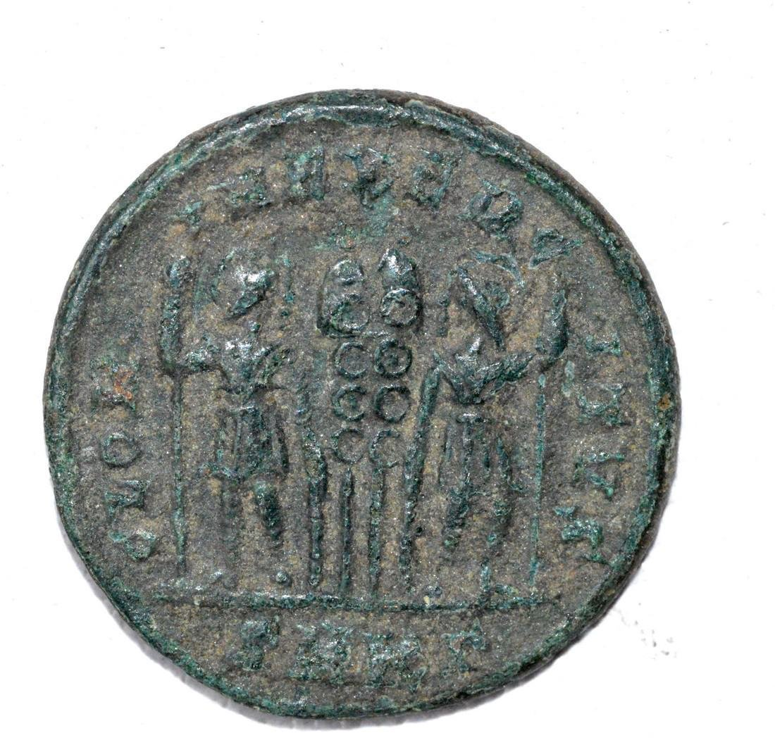 Rare Roman AE Follis - House of Constantine - 2