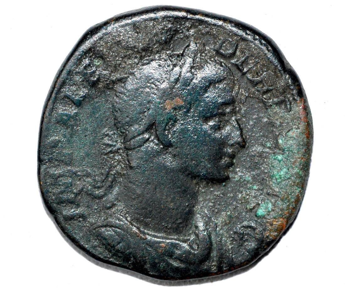 Roman AE Sestertius of Alexander Severus