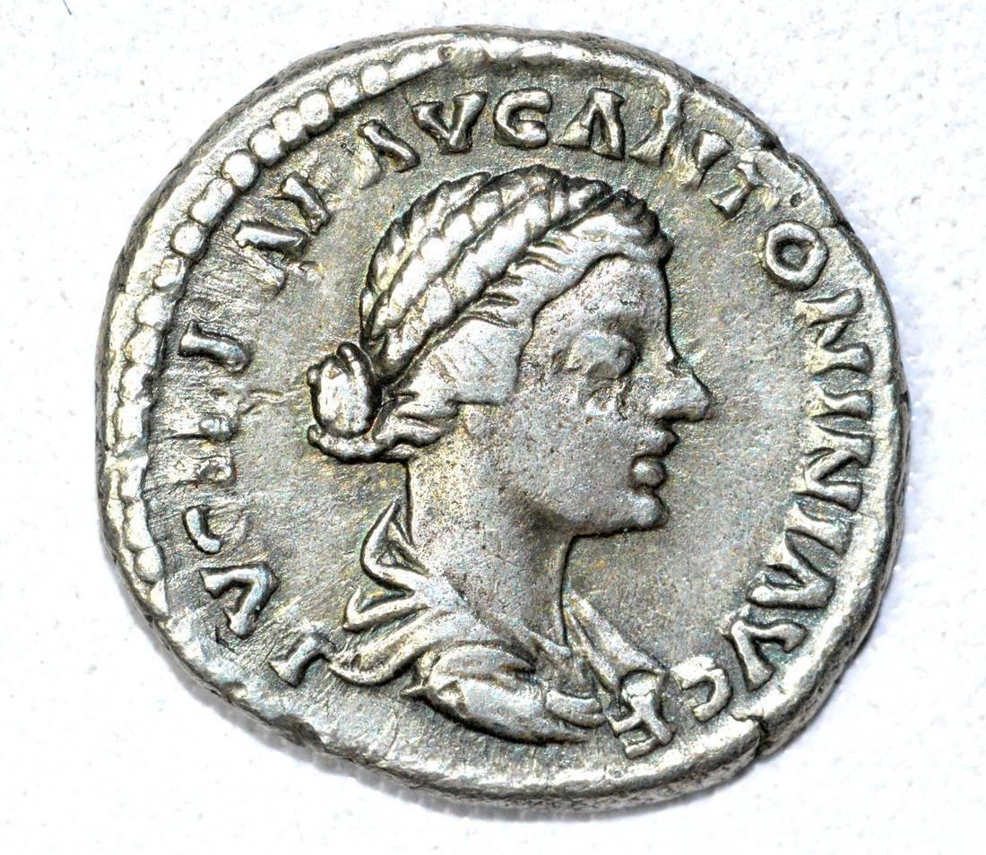 Roman AR Denarius of Lucilla, rv. Venus