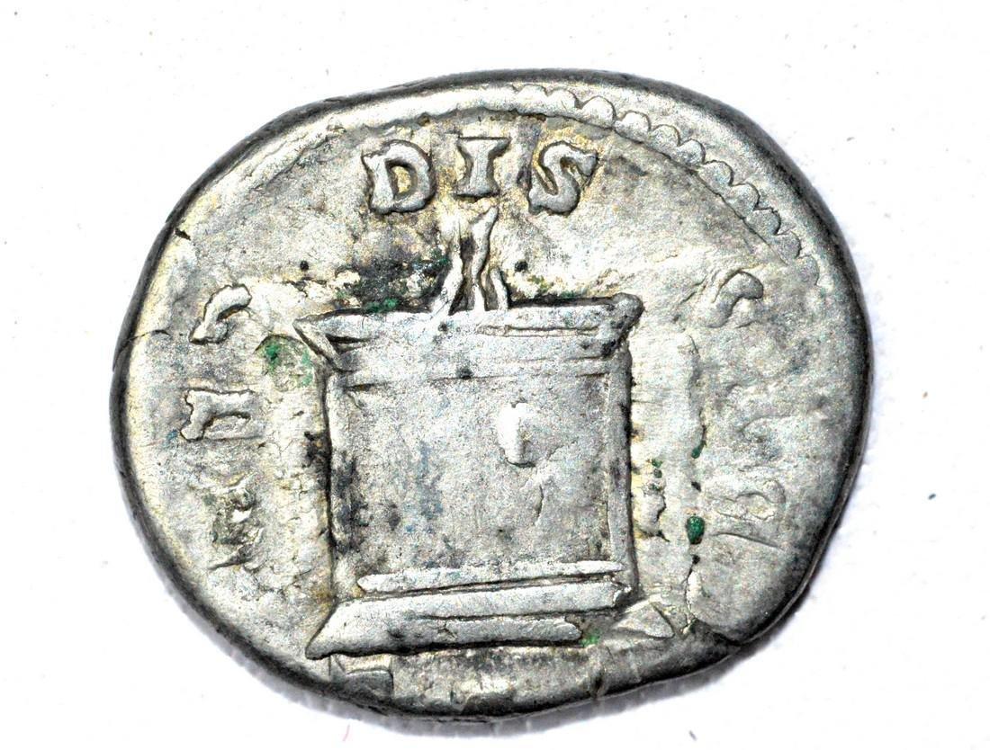 Roman AR Denarius of Crispina, rv. Altar - 2