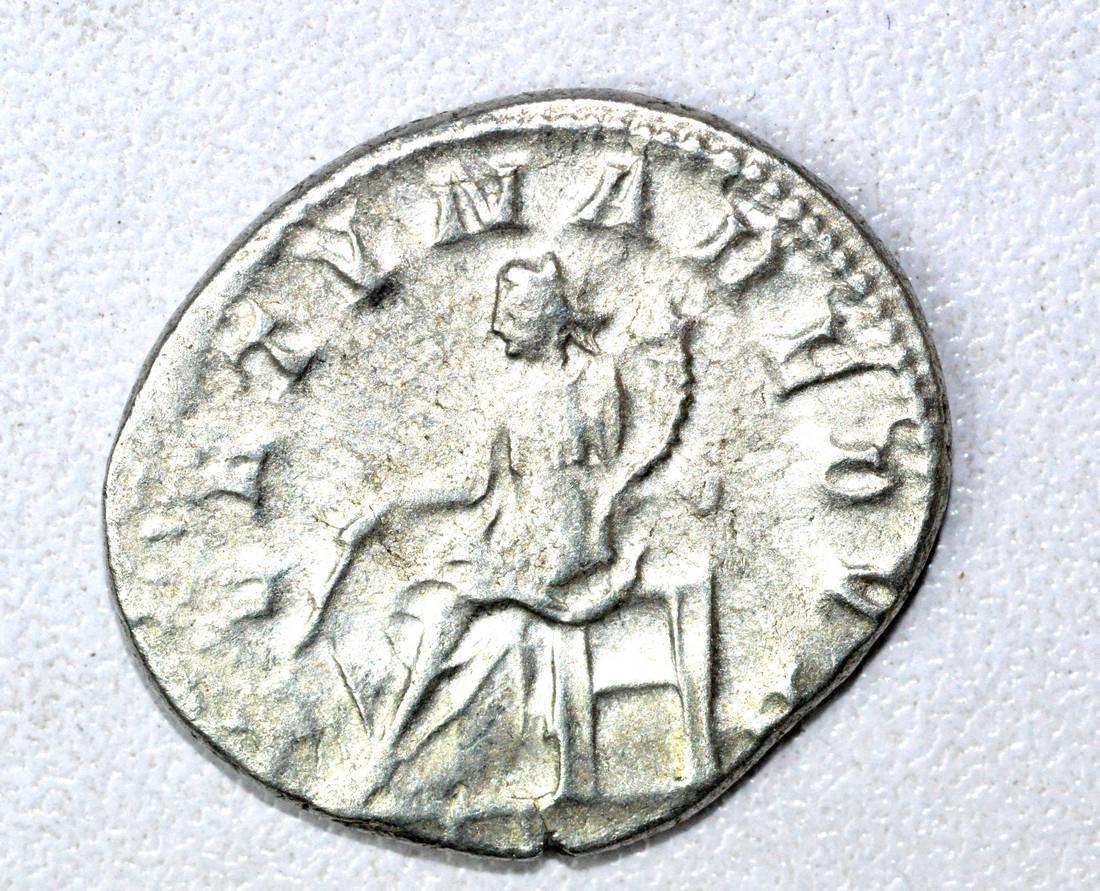 Roman AR Radiate of Gordian III, rv. Fortuna - 2
