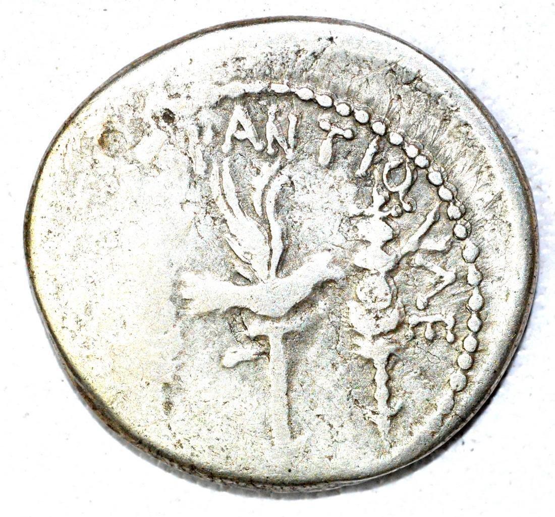 Rare Mark Antony Denarius - 2