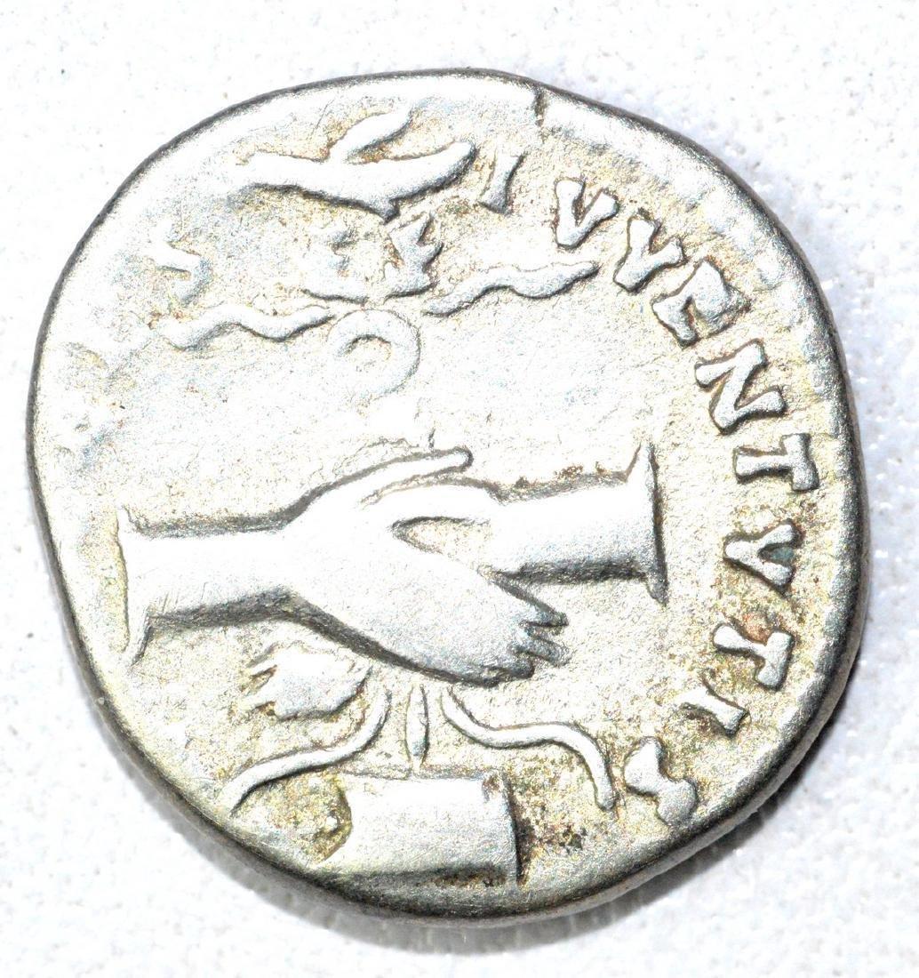 Roman AR Denarius of Dmitian, rv. Hands - 2