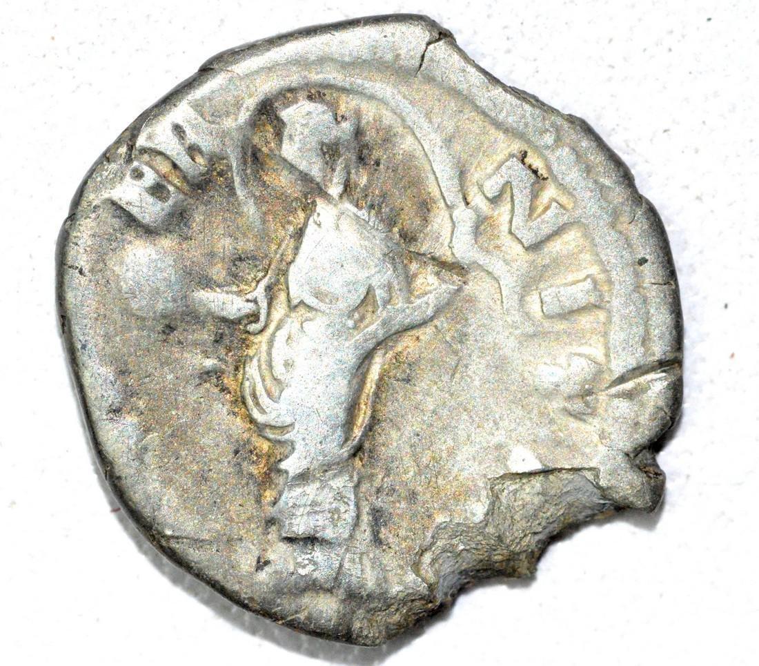 Roman AR Denarius of Faustina, rv. Aeternitas - 2