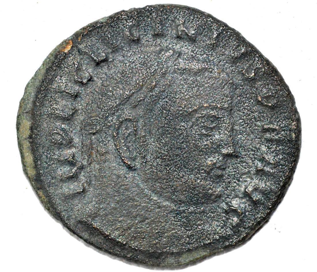 Roman AE2 Follis of Licinius, rv. Jupiter
