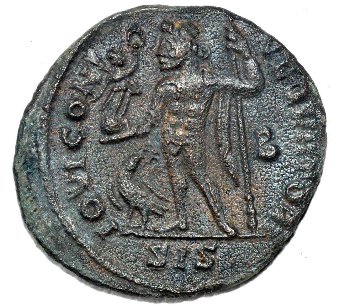 Roman AE2 Follis of Licinius, rv. Jupiter - 2