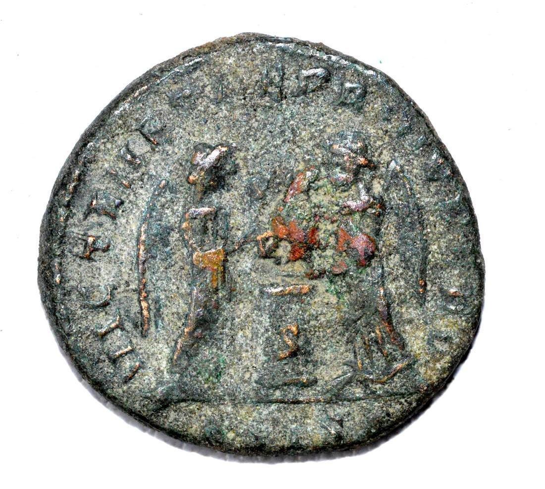 Rare Roman AE Follis - House of Constantine - 2