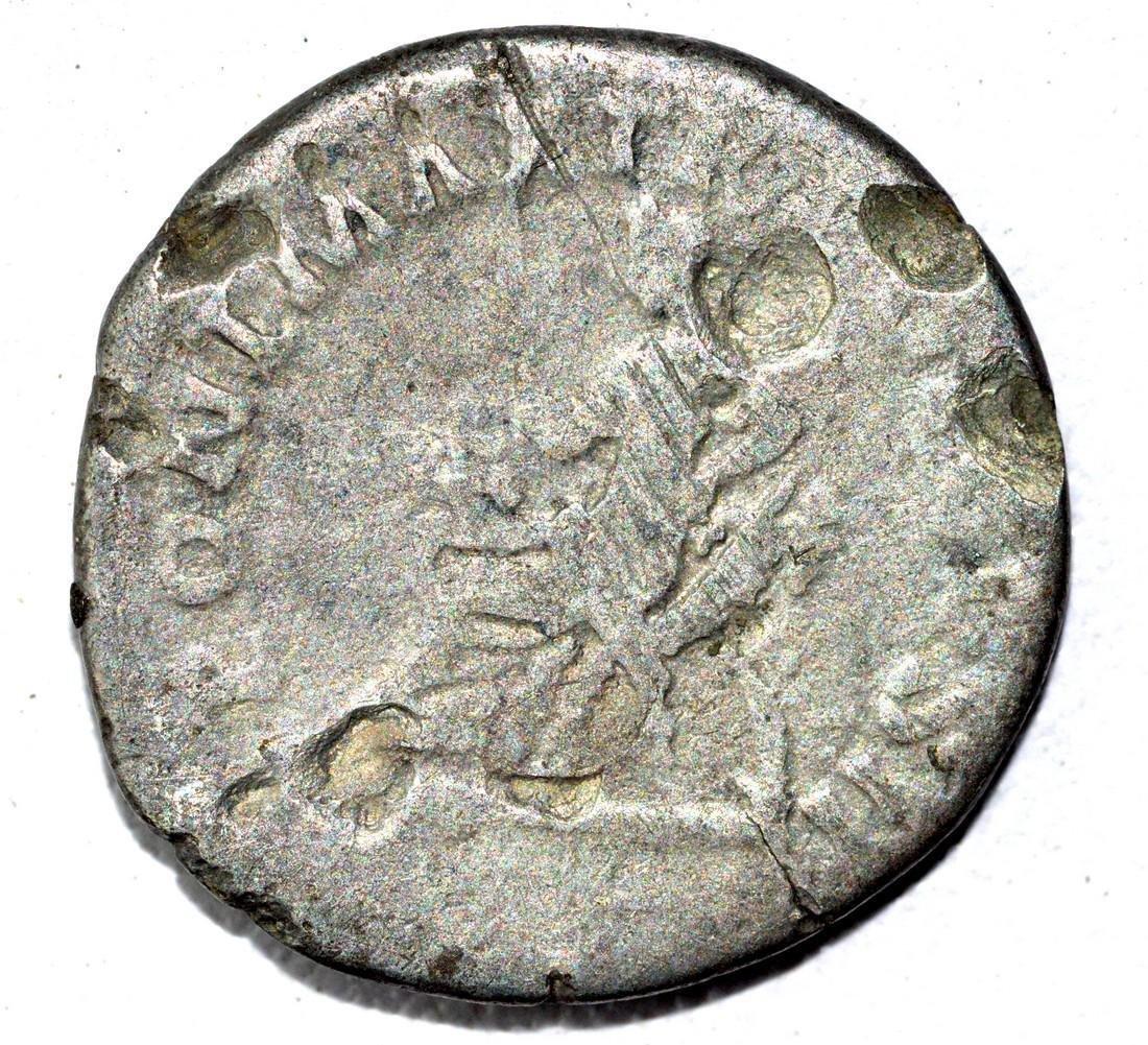 Trajan AR Denarius, rv. Pontifex - 2