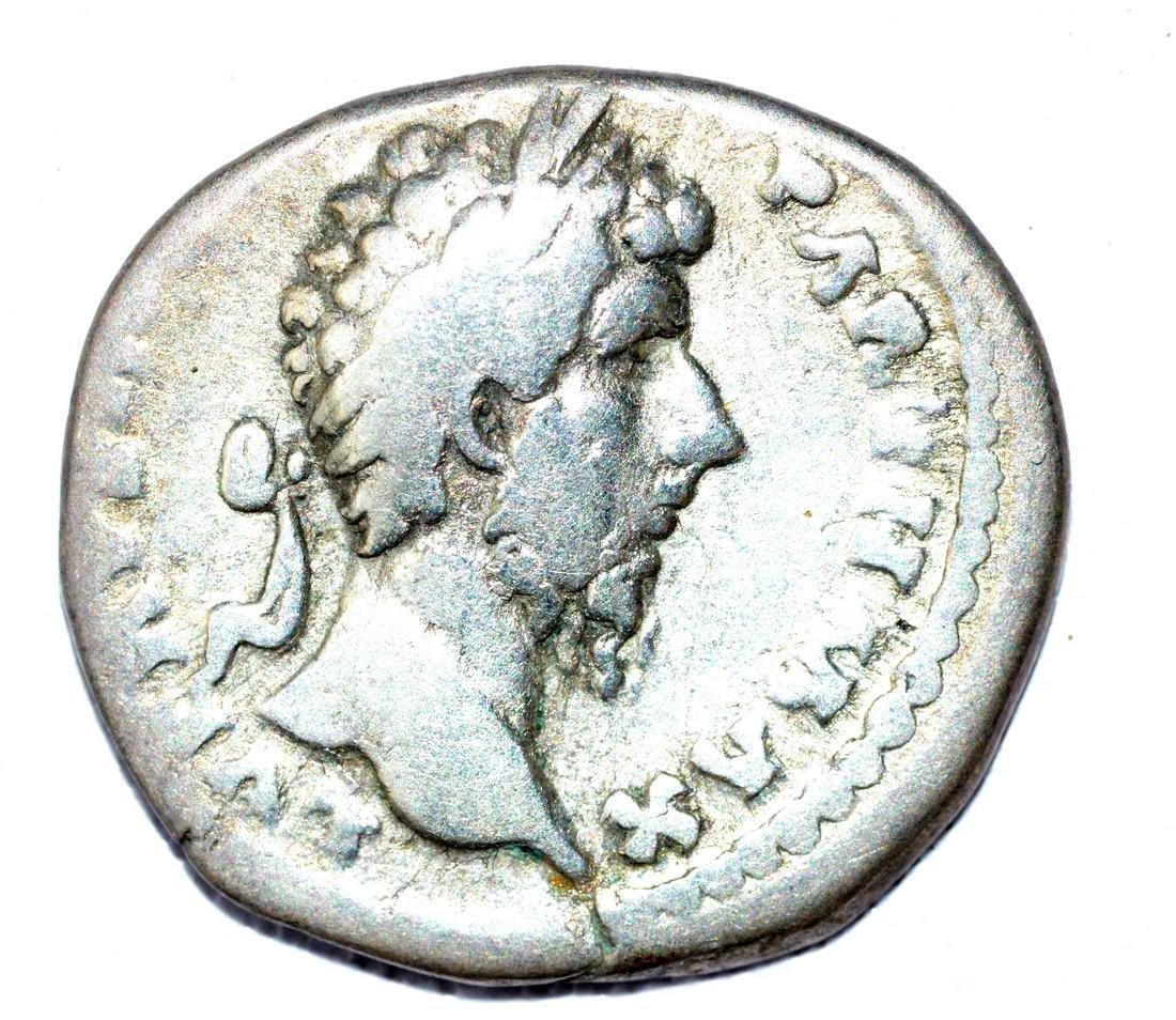 Lucius Verus AR Denarius, rv. Providentia