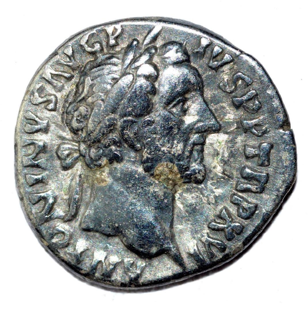 Antoninus Pius AR Denarius, rv. Ceres