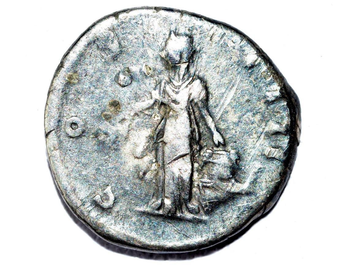 Antoninus Pius AR Denarius, rv. Ceres - 3