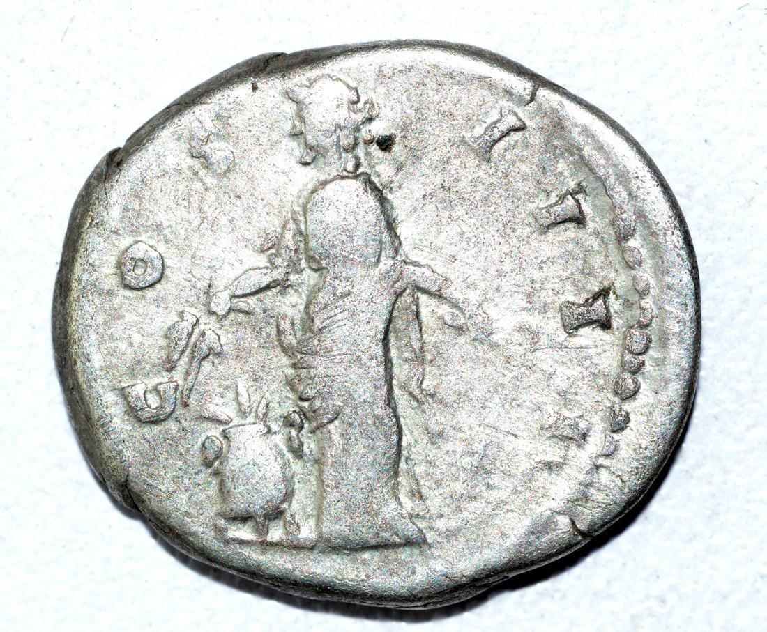 Antoninus Pius AR Denarius, rv. Anonna - 2