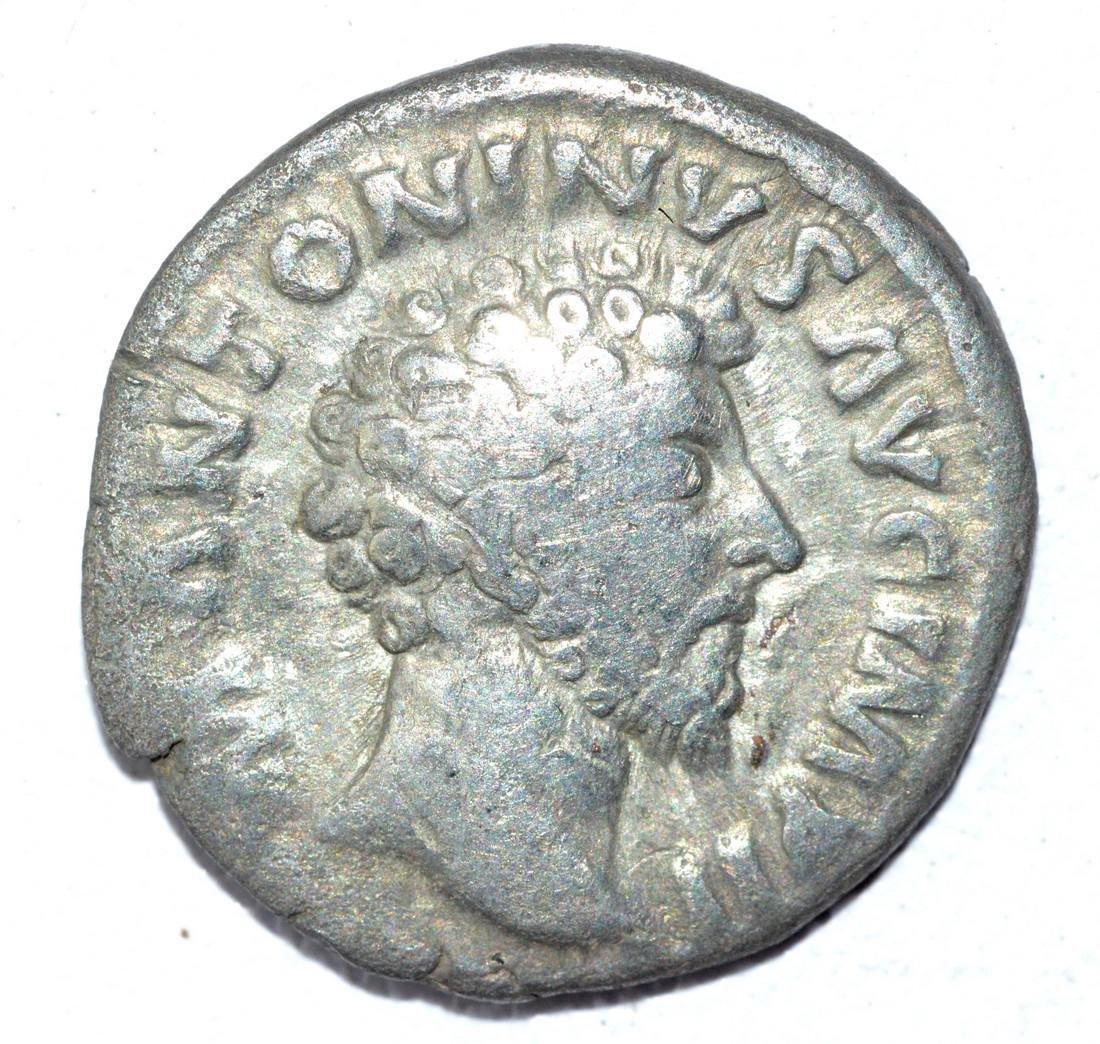 Marcus Aurelius AR Denarius, rv. Providentia
