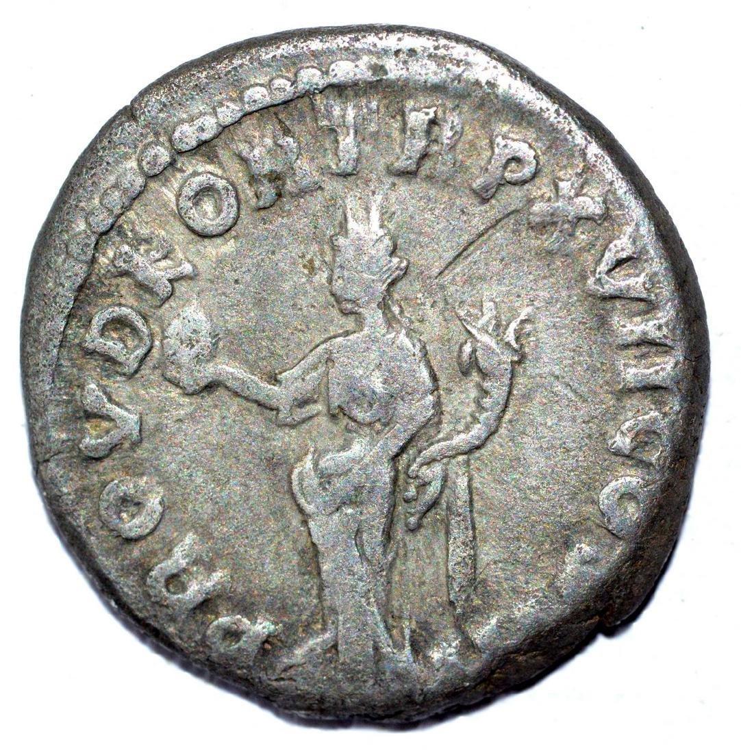 Marcus Aurelius AR Denarius, rv. Providentia - 2