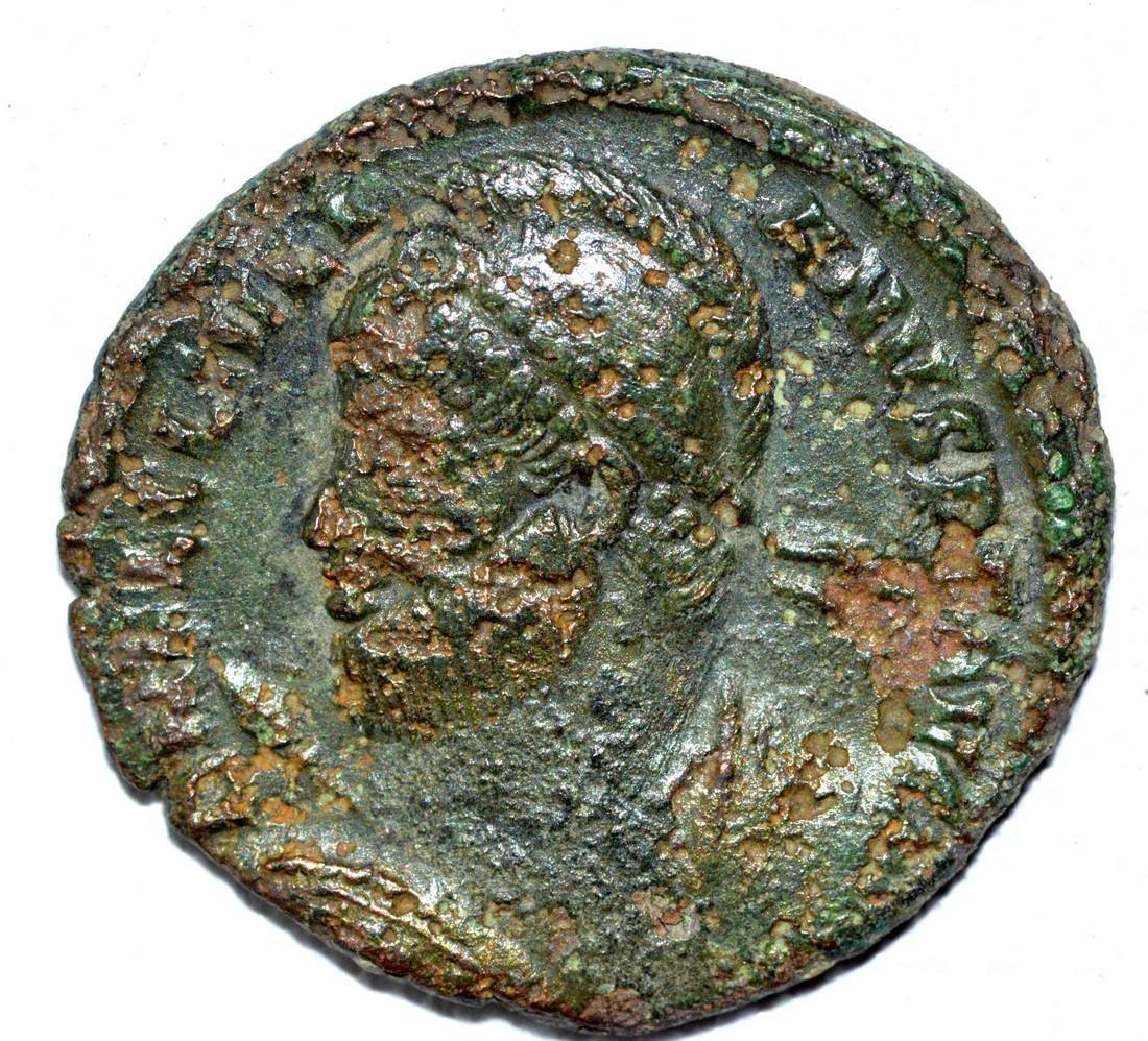 Julian II AE Follis, rv. Laurel Wreath