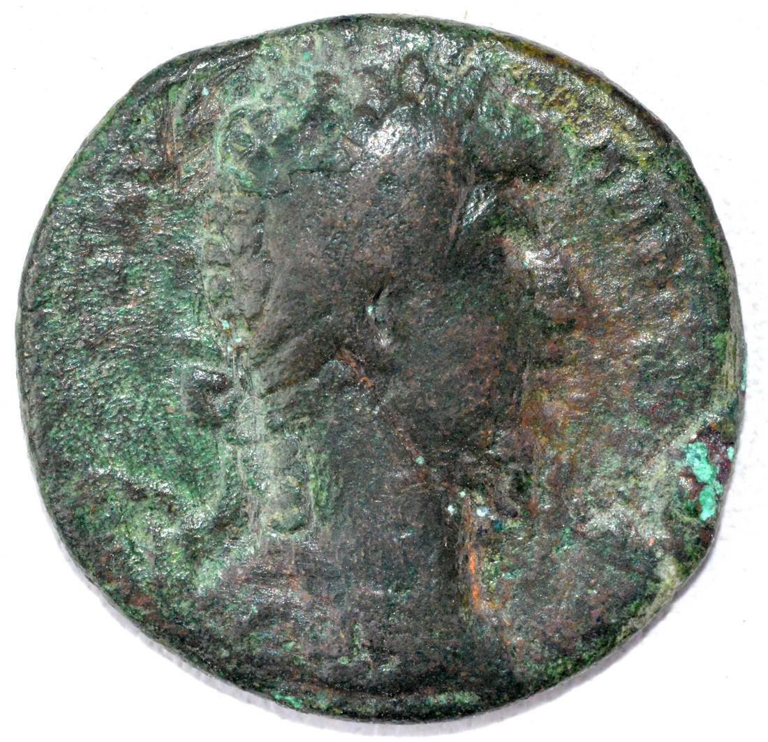 Ancient Roman AS of Lucius Verus