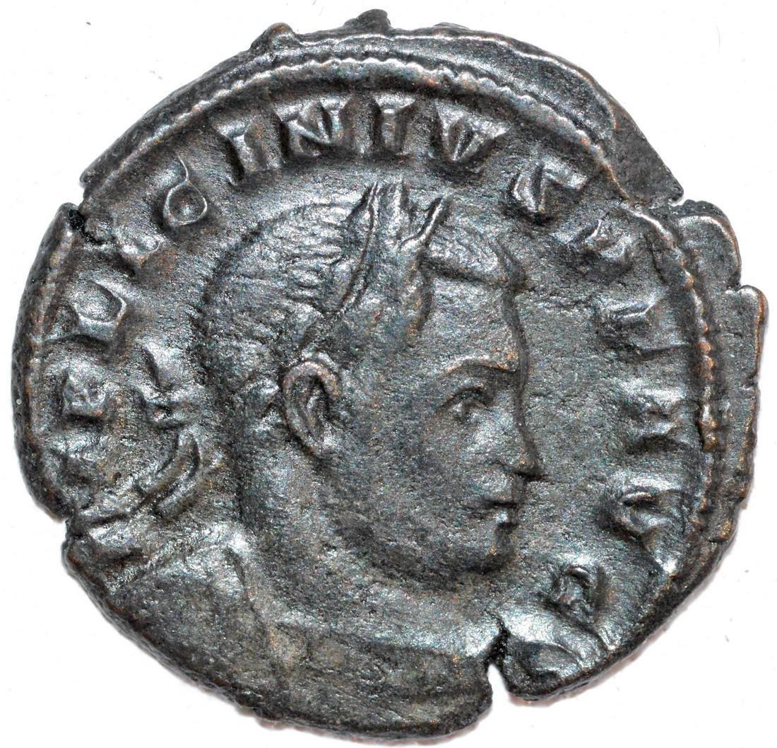Ancient Roman Copper Follis of Empreror Licinius
