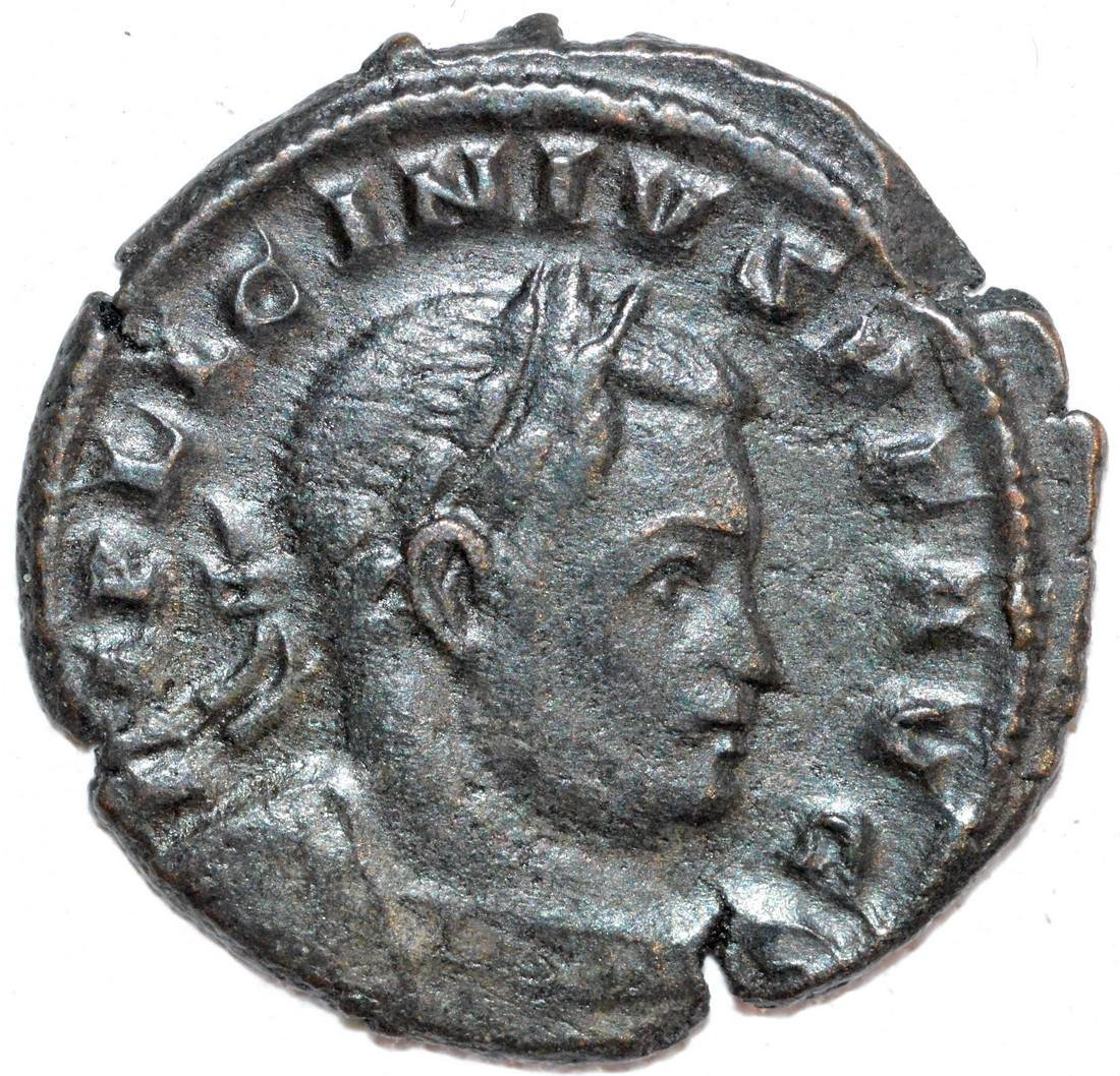 Ancient Roman Copper Follis of Empreror Licinius