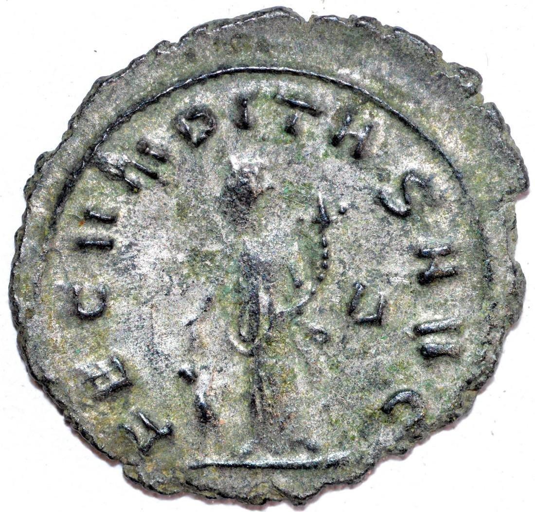 Ancient Roman Copper Antoninianus of Empress Salonina - 2