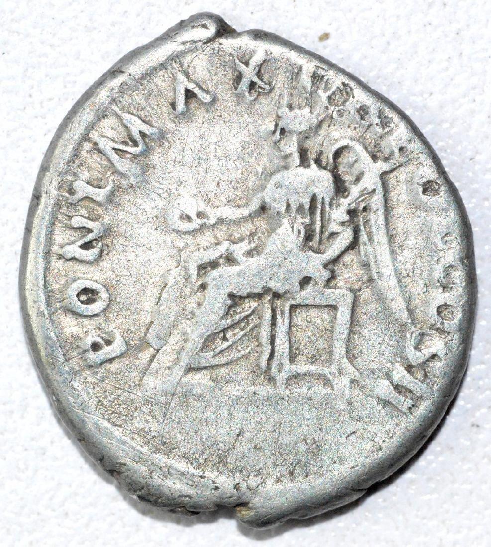 Ancient Roman Denarius Coin - Trajan - 2