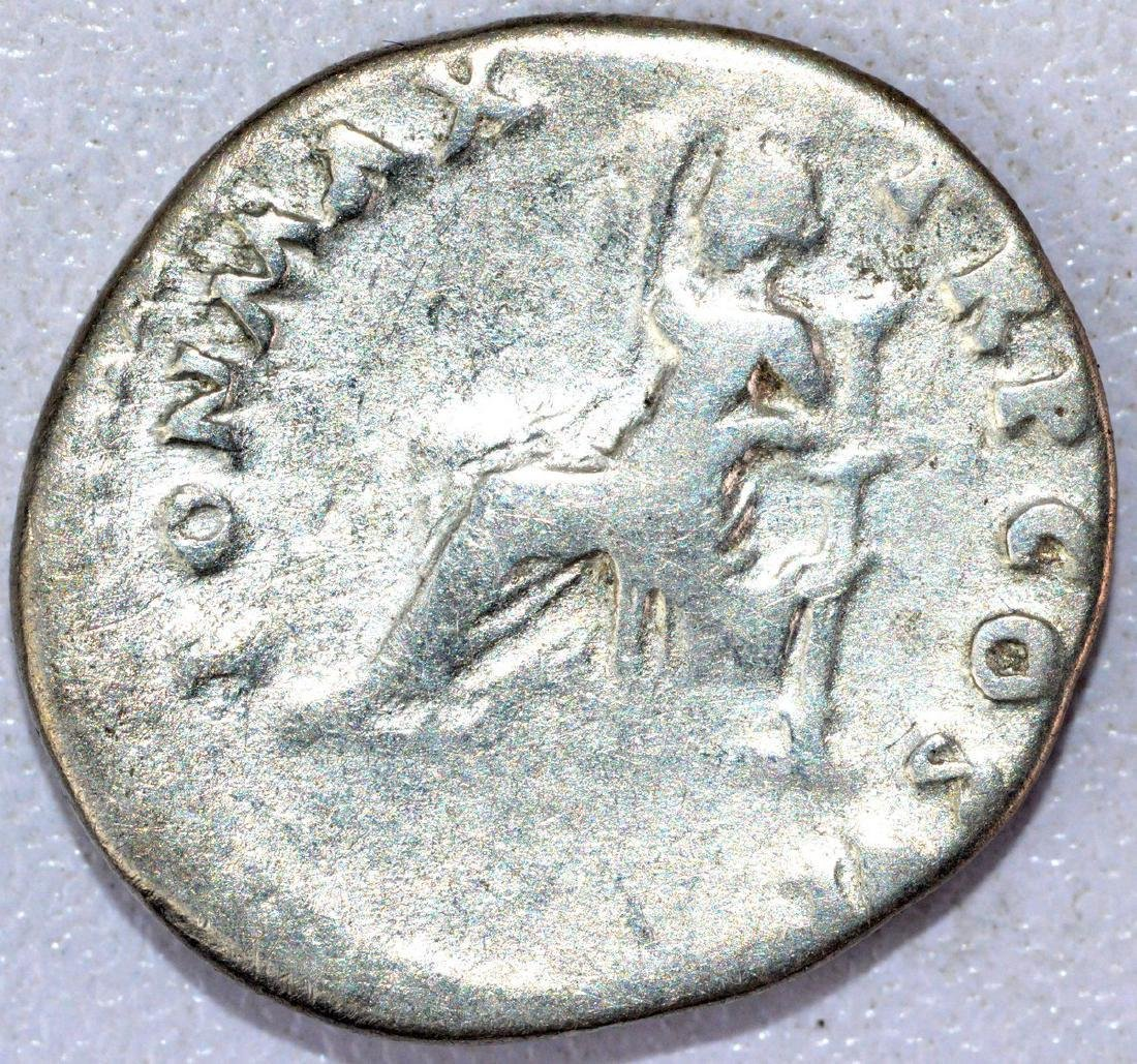 Ancient Roman Denarius of Vespasian - 2