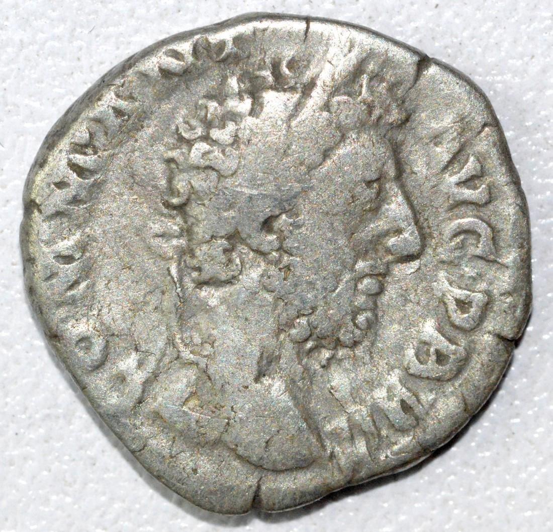 Ancient Roman Denarius Coin - Commodus