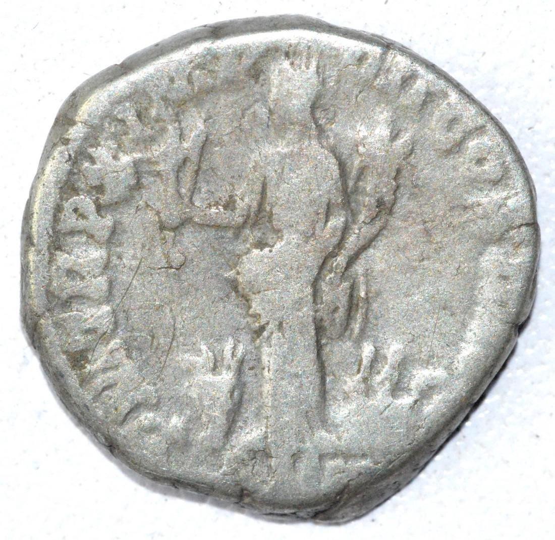 Ancient Roman Denarius Coin - Commodus - 2