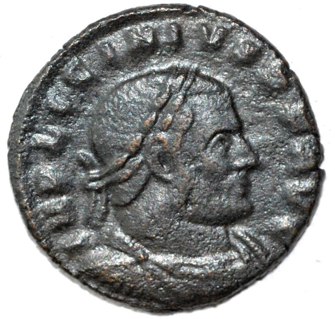 Ancient Roman Follis Coin - Constantius I