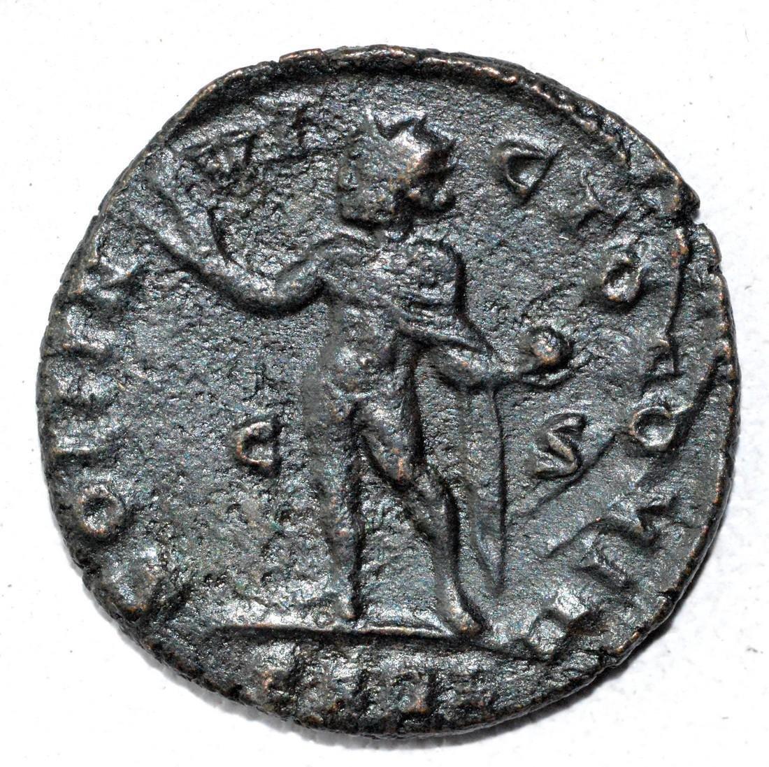 Ancient Roman Follis Coin - Constantius I - 2