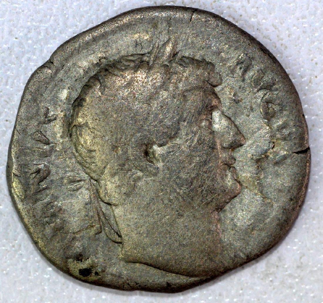 Ancient Roman Denarius of Hadrian