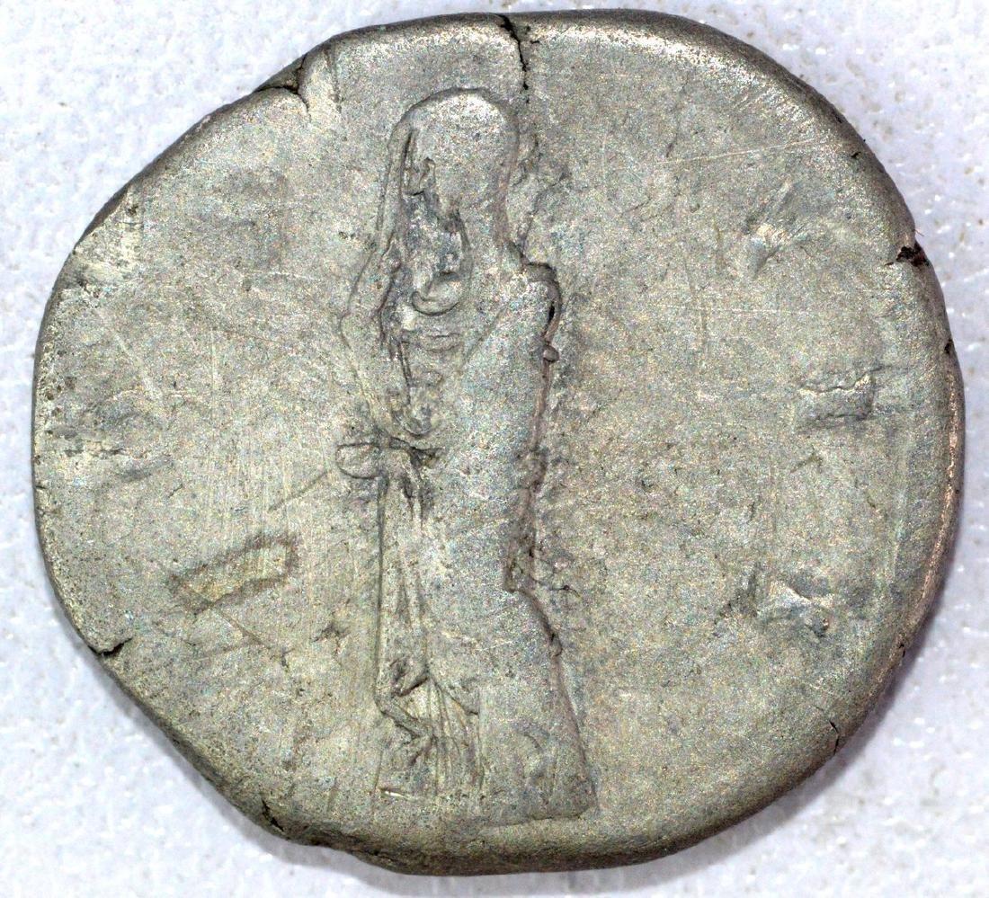 Ancient Roman Denarius of Hadrian - 2