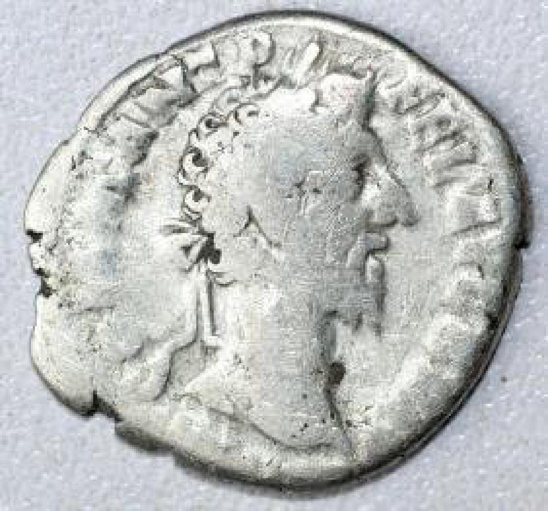 Ancient Roman Denarius Coin - Commodus