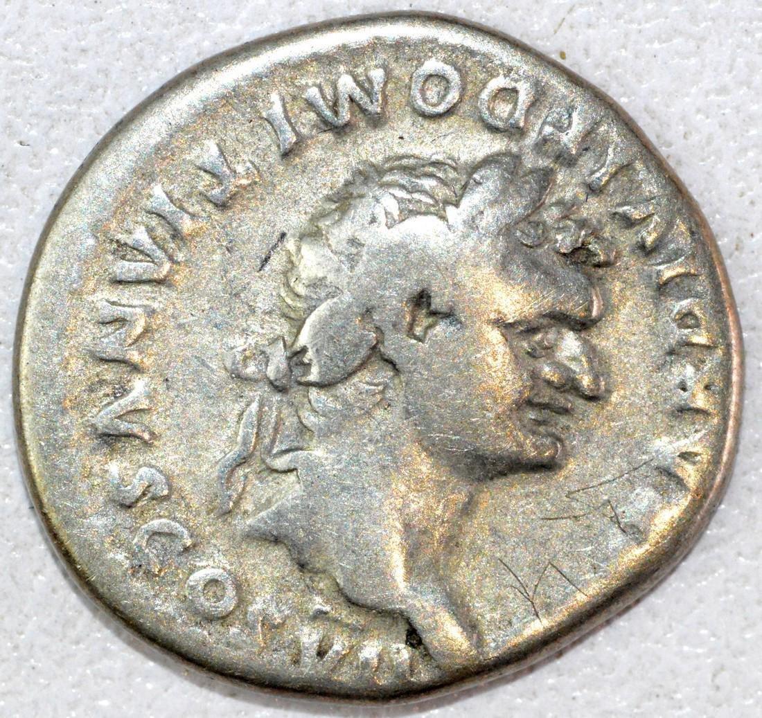 Rare Ancient Roman Denarius of Domintian