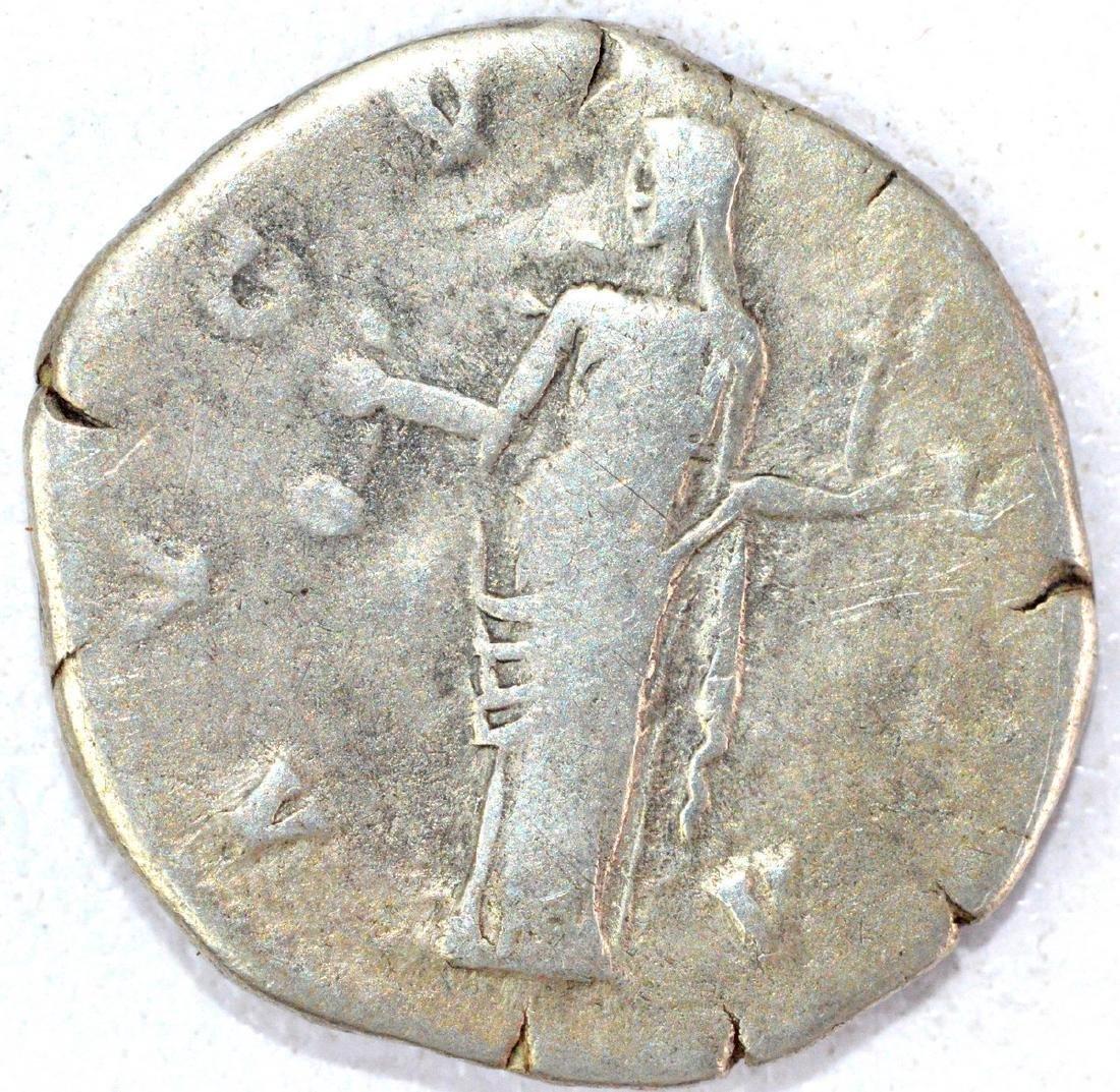 Ancient Roman Denarius of Faustina - 2
