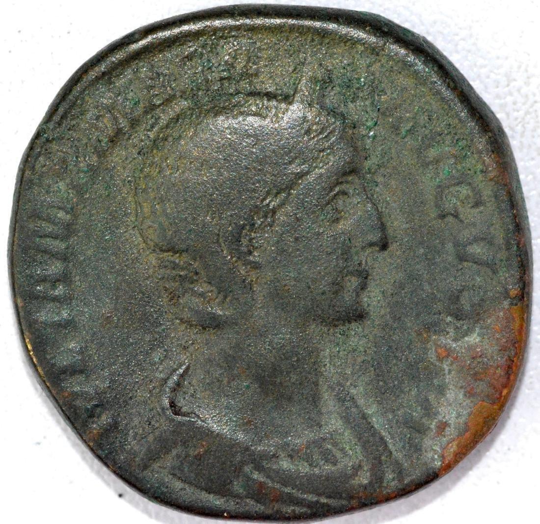 Ancient Roman Sestertius of Julia Maesa