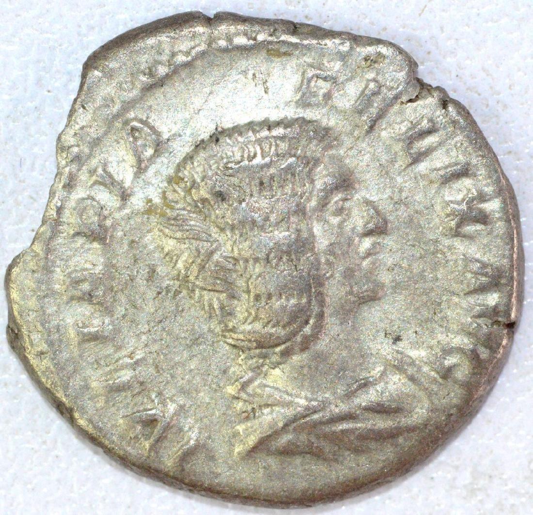 Ancient Roman Denarius of Julia Domna