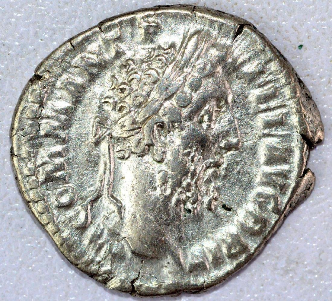 Ancient Roman Denarius of Commodus - 3