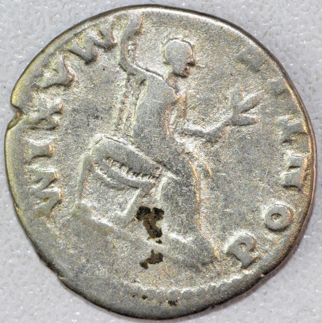 Rare Ancient Roman Denarius of Vespasian - 2