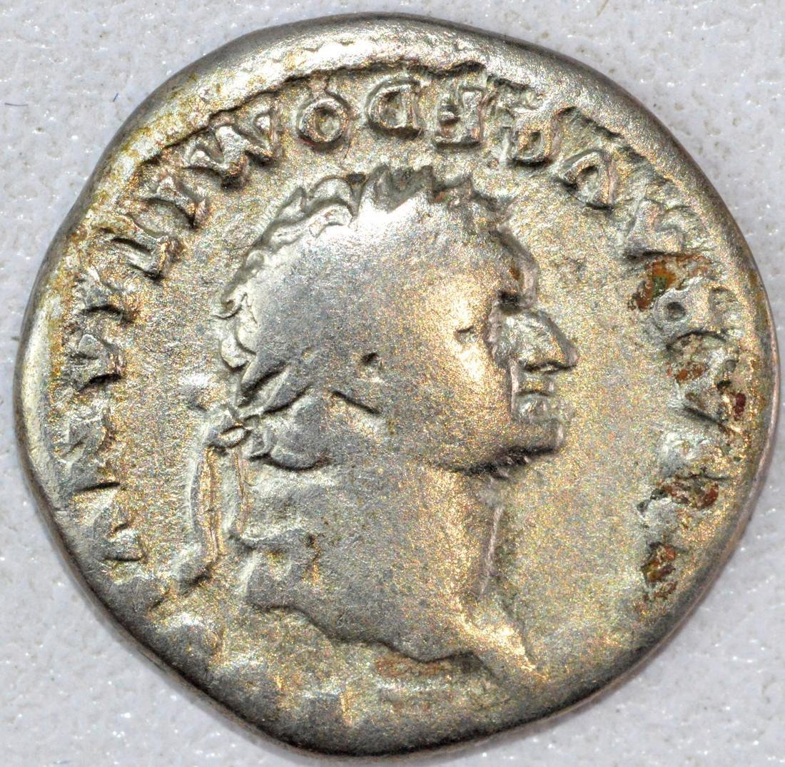 Rare Ancient Roman Denarius of Domintian - 2