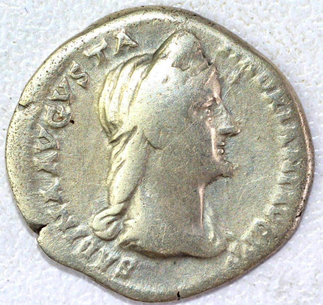 Ancient Roman Denarius of Sabina