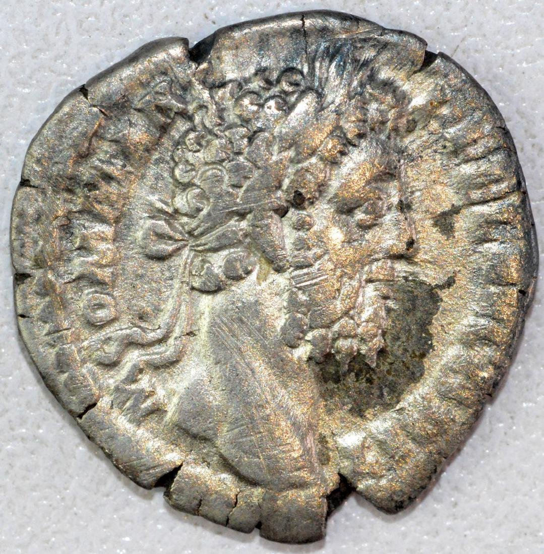 Ancient Roman Denarius of Commodus