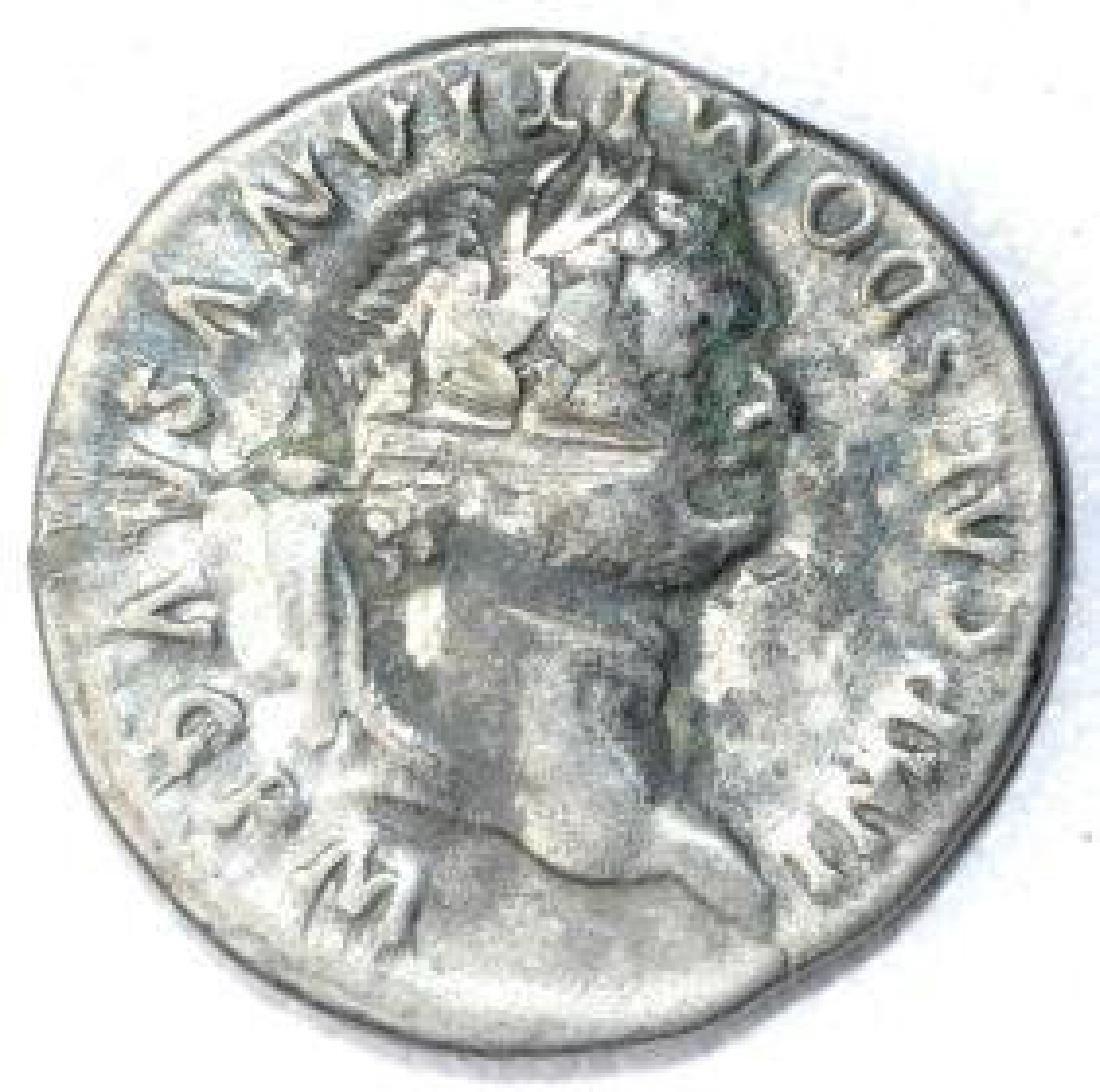Ancient Roman Denarius Coin - Domitian