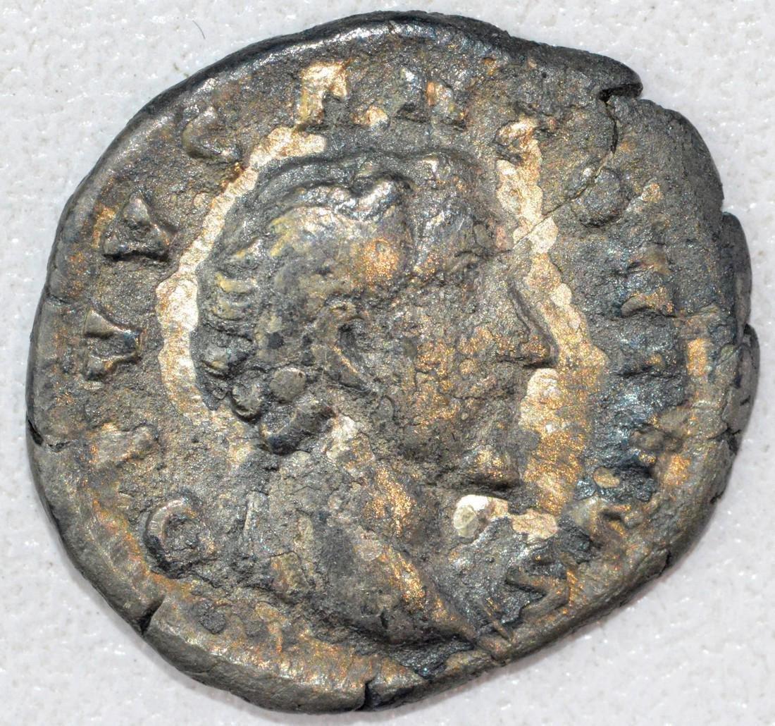 Ancient Roman Denarius of Antonius Pius
