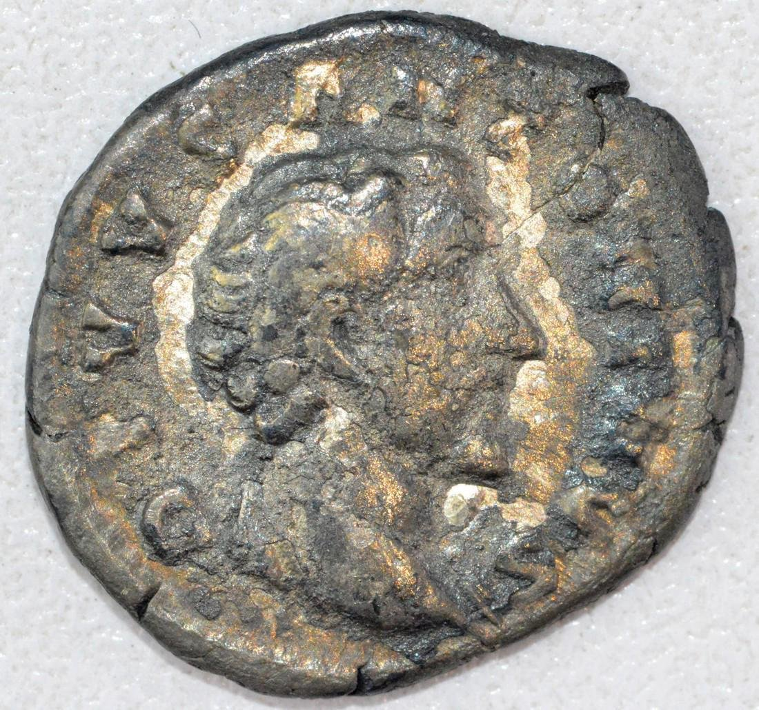 Ancient Roman Denarius of Antonius Pius
