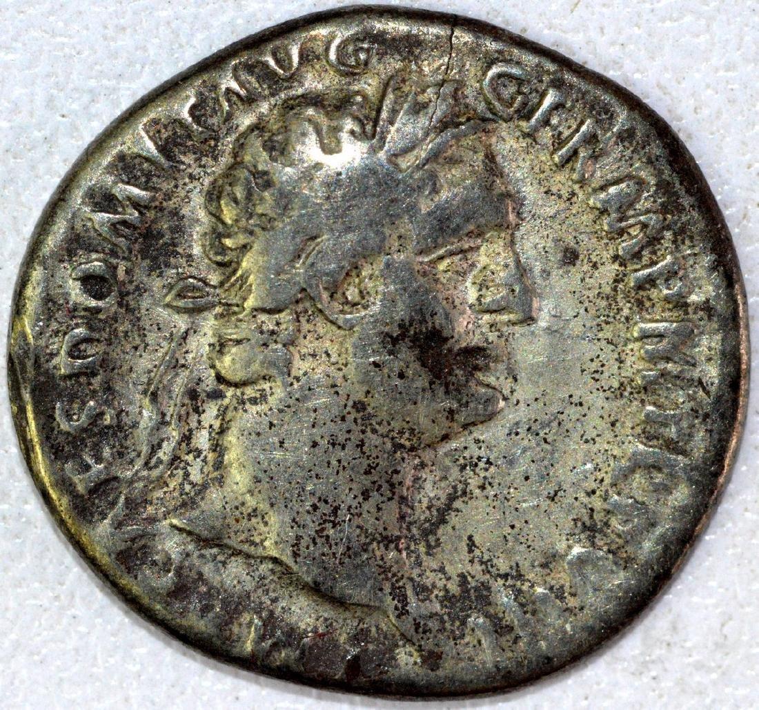 Ancient Roman Denarius of Domitian