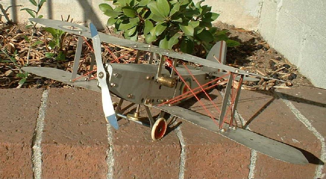 Meccano No. 1 biplane