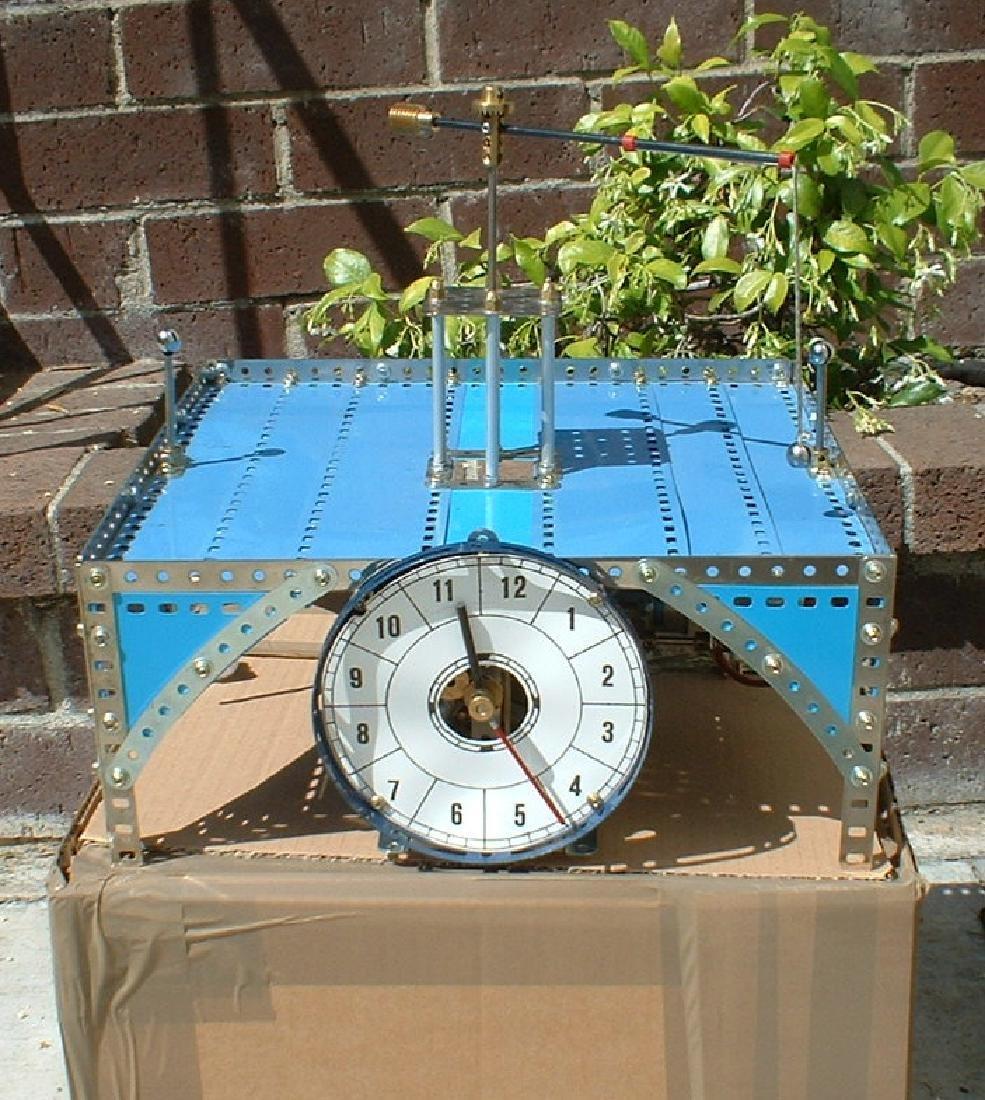 Meccano (Made in England) clock